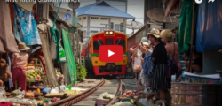 Mae Klong Station Market