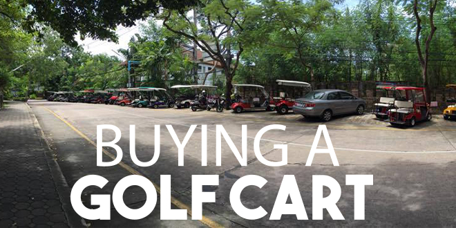 Guide to Golf Carts