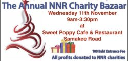 Annual NNR Bazaar at Sweet Poppy 11th November 2020